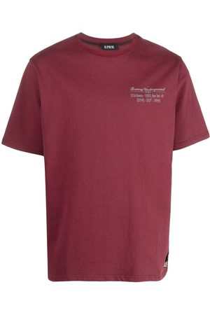 U.P.W.W. Worker panelled T-shirt