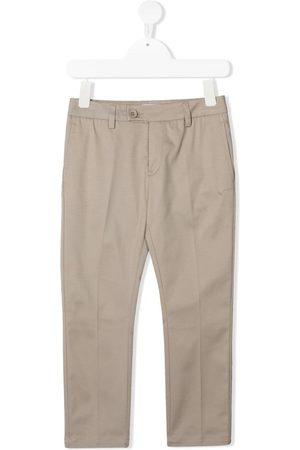 DONDUP KIDS Straight-leg chino trousers - Neutrals