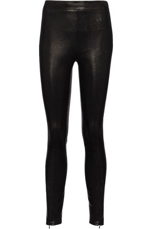 J Brand Octavia high-rise leather leggings