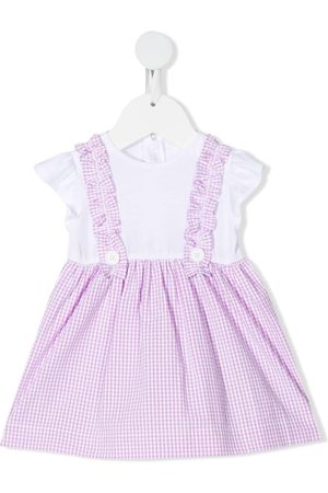 Il gufo Girls Casual Dresses - Gingham check flared dress