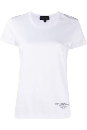 Emporio Armani Women T-shirts - Logo-print T-shirt