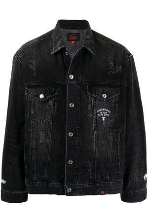 AAPE BY A BATHING APE Distressed denim jacket