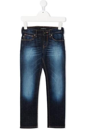 Emporio Armani Faded-effect jeans