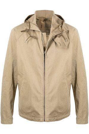 Ten Cate Zip-up cotton hooded jacket - Neutrals