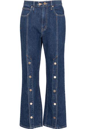 SLVRLAKE X ELLERY Stagecoach embellished jeans