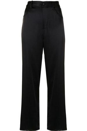 FLEUR DU MAL Satin pajamas bottoms