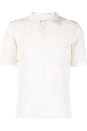 Bottega Veneta Open-knit polo shirt - Neutrals