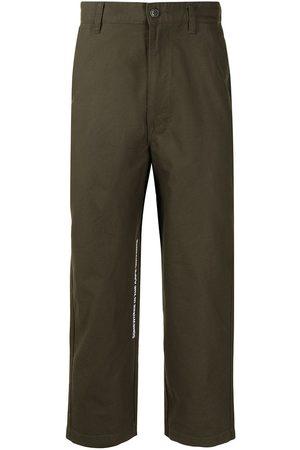 AAPE BY A BATHING APE Straight leg trousers