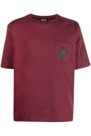 U.P.W.W. Logo-print pocket T-shirt