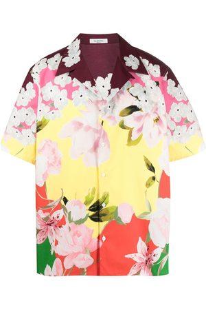 VALENTINO Rose-print shirt