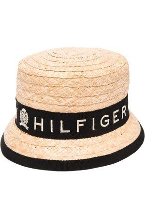 Tommy Hilfiger Logo-print sun hat - Neutrals