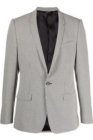 Dolce & Gabbana Houndstooth print blazer - Neutrals