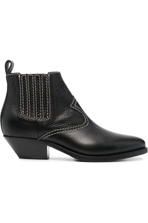 P.a.r.o.s.h. Western-style leather boots