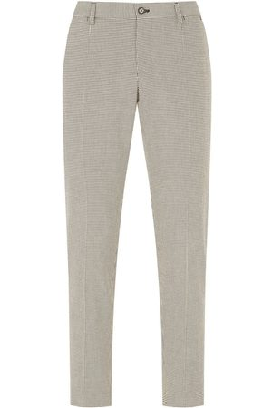 Dolce & Gabbana Men Formal Pants - Houndstooth tailored trousers