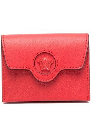 VERSACE Women Wallets - Medusa Head compact wallet