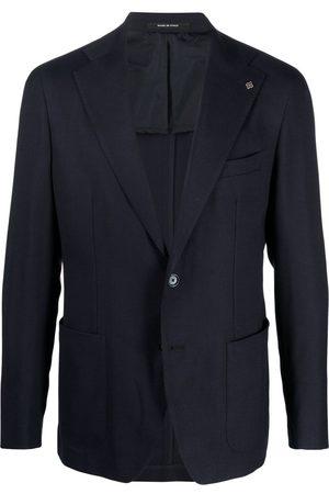 TAGLIATORE Men Blazers - Virgin wool single-breasted blazer