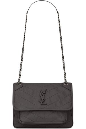 Saint Laurent Niki shoulder bag - Grey