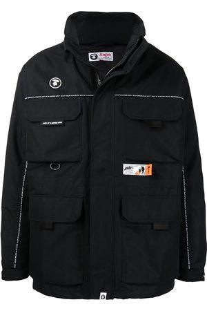 AAPE BY A BATHING APE Men Puffer Jackets - Padded patch-pocket jacket