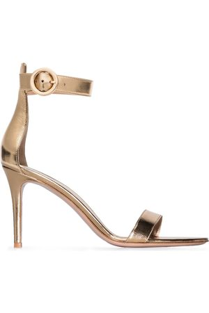 Gianvito Rossi Portofino 85mm leather sandals