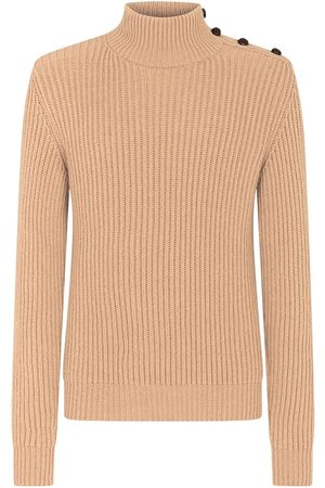 Dolce & Gabbana Button-embellished rollneck jumper