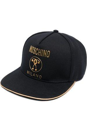 Moschino Men Caps - Double Question Mark logo cap