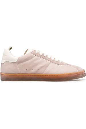 Officine creative Karma low-top suede sneakers - Neutrals