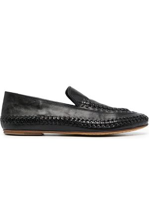 Officine creative Women Loafers - Bessie braided-detail loafers