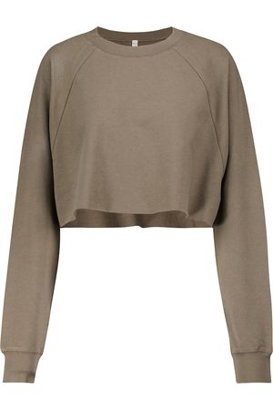 alo Double Take cropped sweatshirt