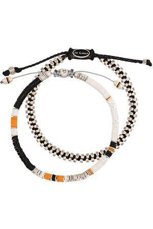 M. COHEN Set of 2 beaded bracelets