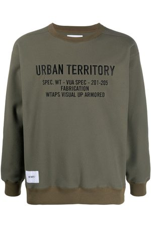 Wtaps Embroidered logo sweatshirt