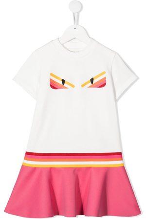Fendi Graphic-print T-shirt dress