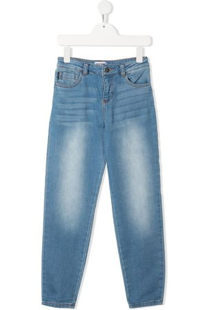 Moschino Faded-effect jeans