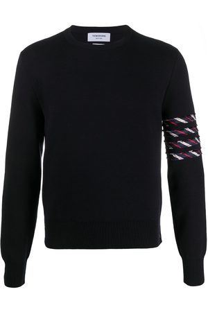 Thom Browne Men Sweatshirts - 4-Bar stripe jumper