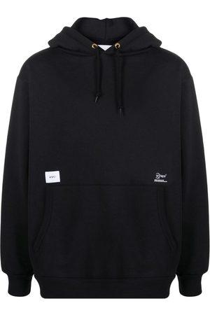 Wtaps Logo print hoodie