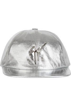 Giuseppe Zanotti Men Caps - Metallic logo baseball cap