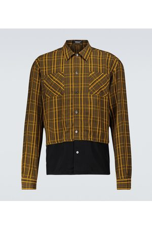 UNDERCOVER Checked long-sleeved shirt
