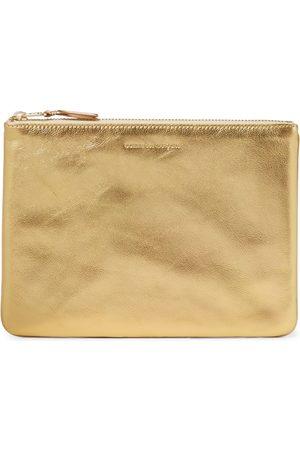 Comme des Garçons Women Wallets - Metallic leather wallet