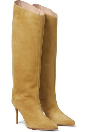 ALEXANDRE VAUTHIER Alex 90 suede knee-high boots