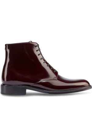 Saint Laurent Men Ankle Boots - Patent ankle boots