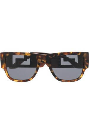 Versace Eyewear Greca square-frame sunglasses