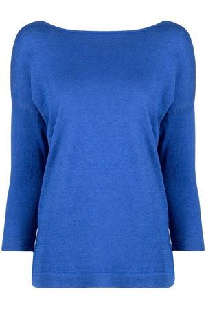 SNOBBY SHEEP Women Sweaters - V-back silk-blend jumper