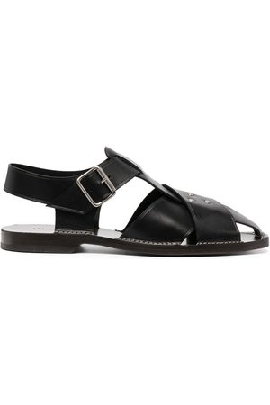 LEMAIRE Men Sandals - Strappy leather sandals