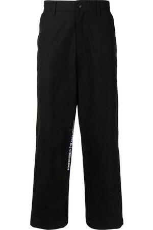 AAPE BY A BATHING APE Men Wide Leg Pants - Wide-leg cropped trousers