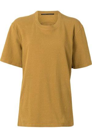 Proenza Schouler Women T-shirts - Cut-detailing crew-neck T-shirt