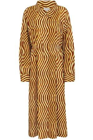 DRIES VAN NOTEN Women Casual Dresses - Printed cotton midi dress