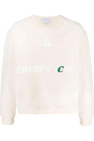 Xander Zhou Sweatshirts - Creepy Cute sweatshirt - Neutrals