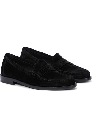 Saint Laurent Le Loafer suede loafers