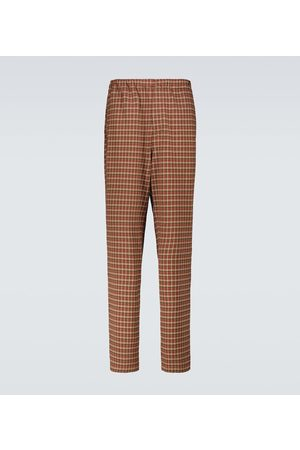 UNDERCOVER Checked tapered pants
