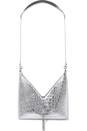 Givenchy Cut Out croc-effect leather shoulder bag
