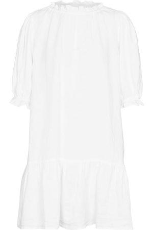 Velvet Bernice linen minidress